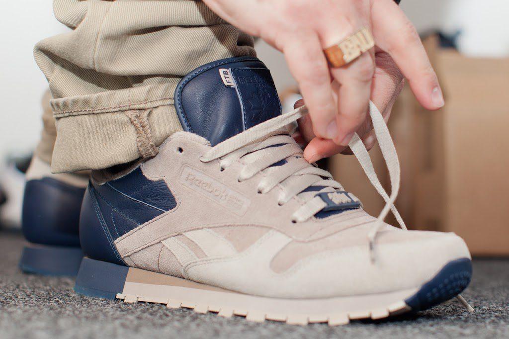 Sneakersnstuff X Reebok Classic Leather