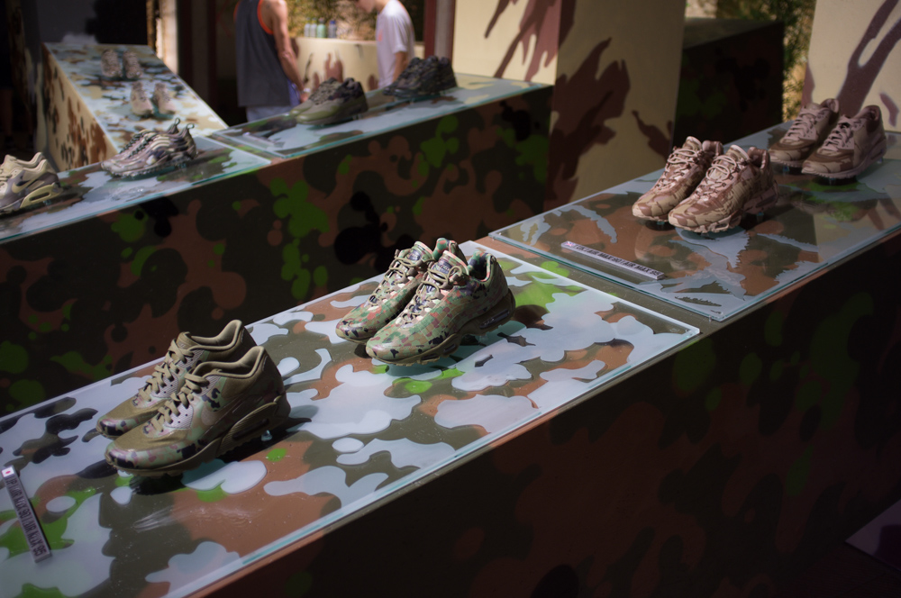 We checked out this dope camo installation by Nike Sportswear. Super nice!