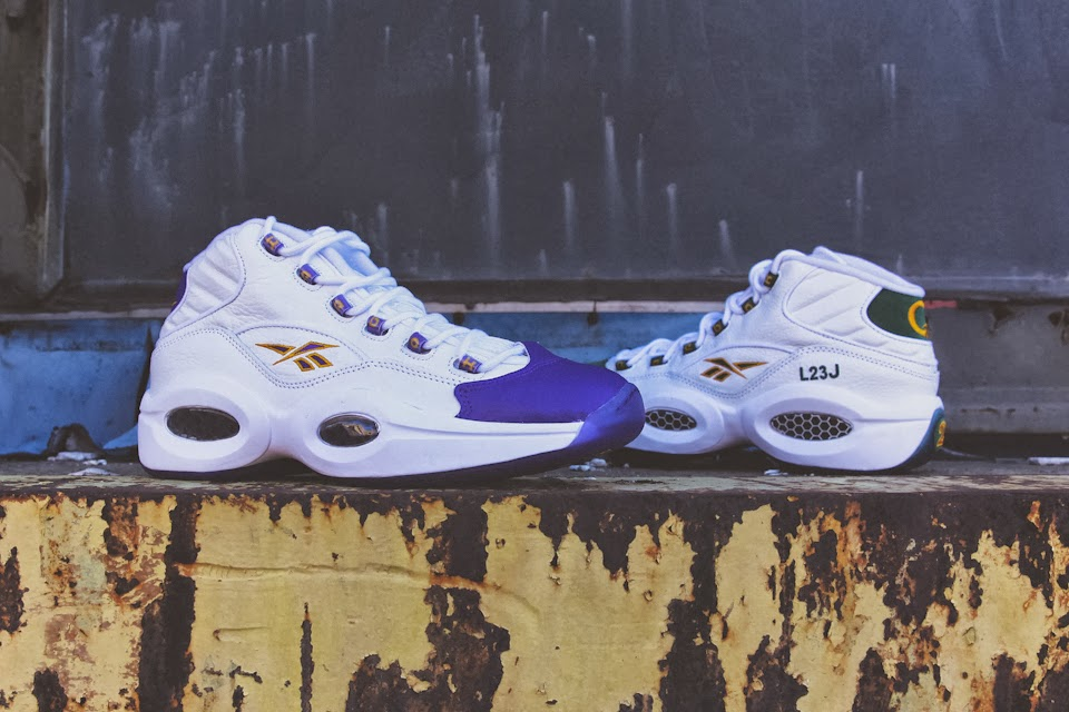 "50bdf31e3464 Packer Shoes teamed up with Reebok and created the ""For Players Use Only""  pack that includes two versions of the Reebok Question. The pack references  to the ..."