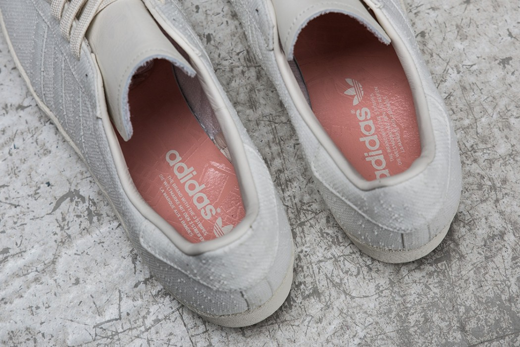 adidas superstar with silver stripes