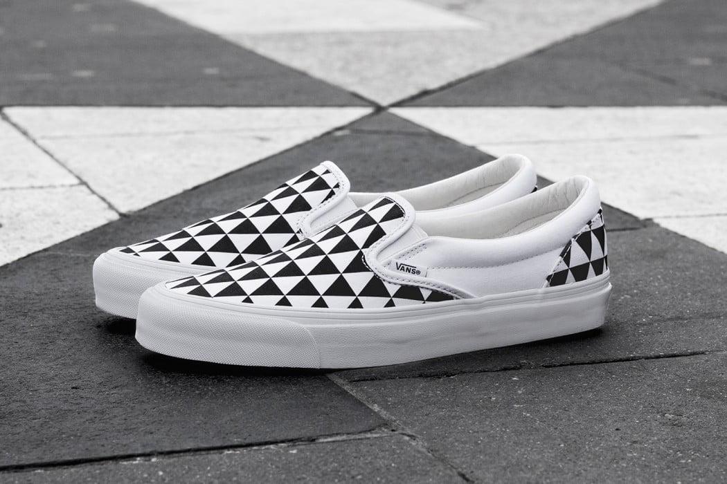 """9b84abafb48093 Sneakersnstuff x Vans OG Classic Slip-On LX """"Stockholm"""""""