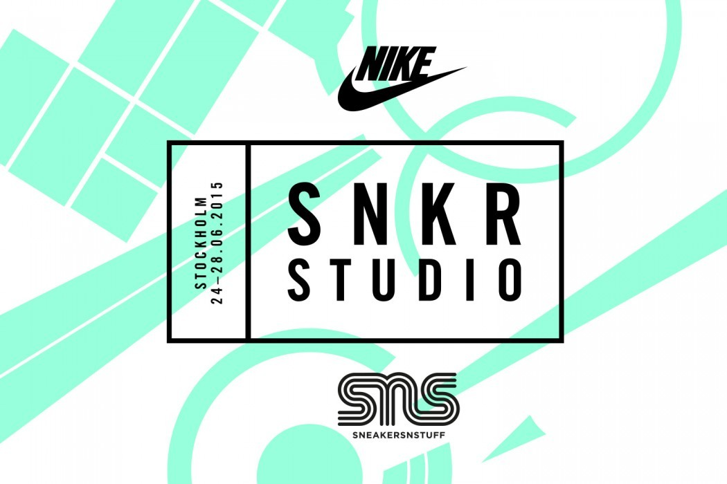 buy popular d28d5 1a7b8 This week, from the 24th to the 28th of June, Nike will open up their SNKR  STUDIO in Stockholm. A SNKR STUDIO for the ultimate sneaker experience.