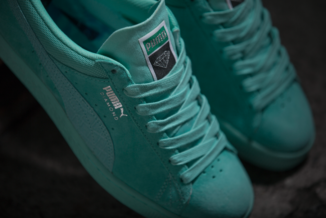 34879a77e5 PUMA X DIAMOND SUPPLY Classic Suede | Sneakersnstuff Blog
