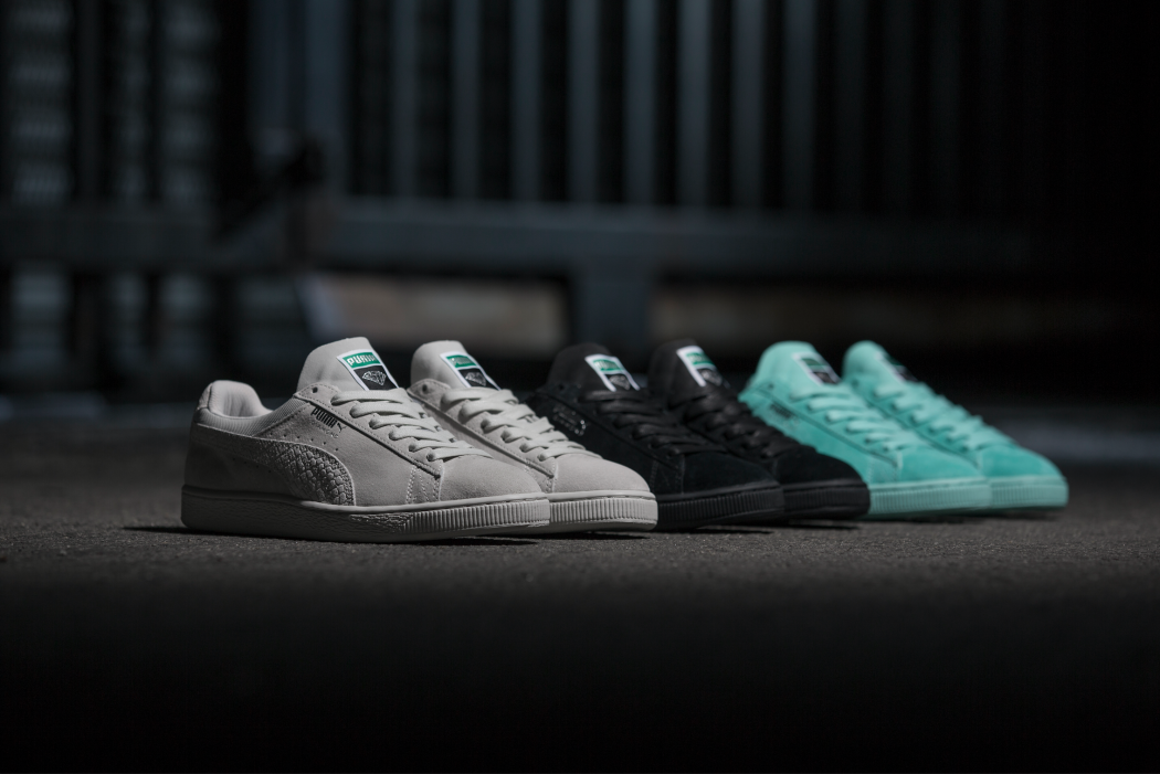 buy popular 05edf dbd67 PUMA X DIAMOND SUPPLY Classic Suede | Sneakersnstuff Blog