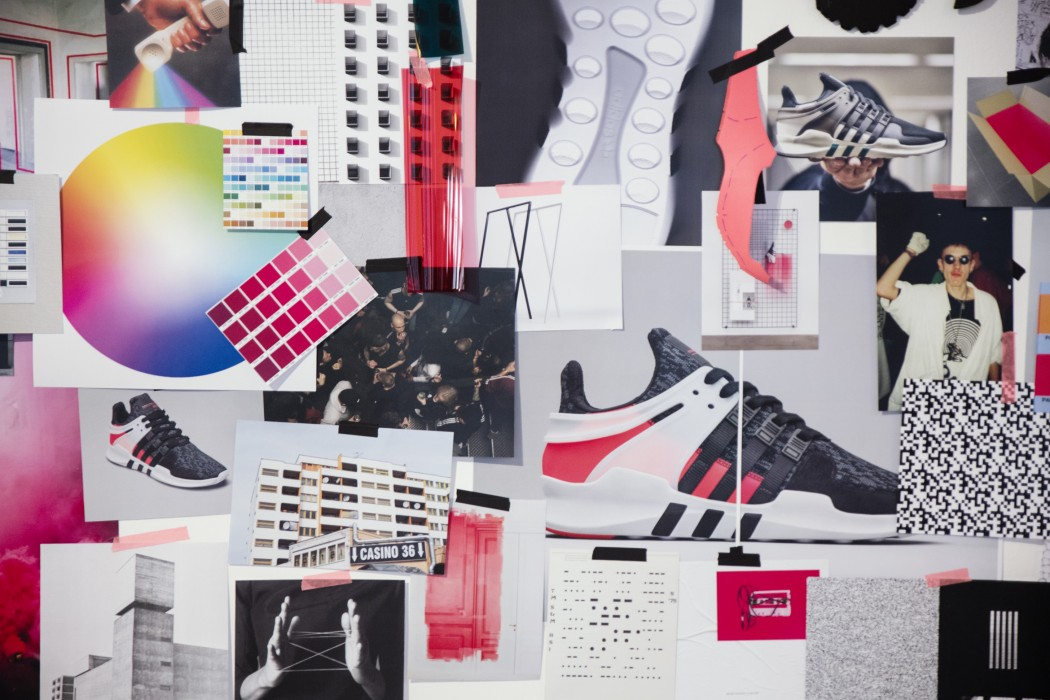 Moodboards and concepts around the new EQT