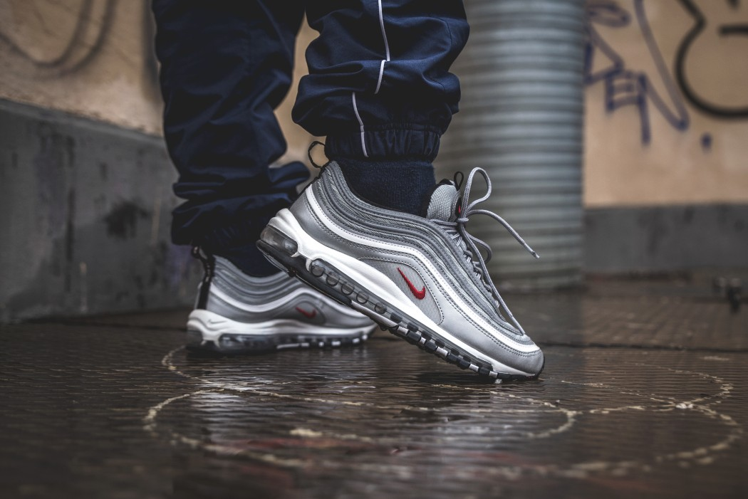 1eb19ef0e91b8 ... Nike Air Max 97 Silver Bullet is back again Sneakersnstuff ...