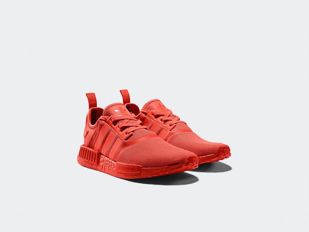 Adidas originals NMD_R1 solar red 2017